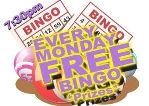 Free Bingo @ Moose's